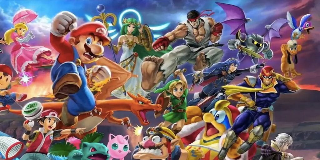 Smash Bros Ultimate Full Character List All Stages Player