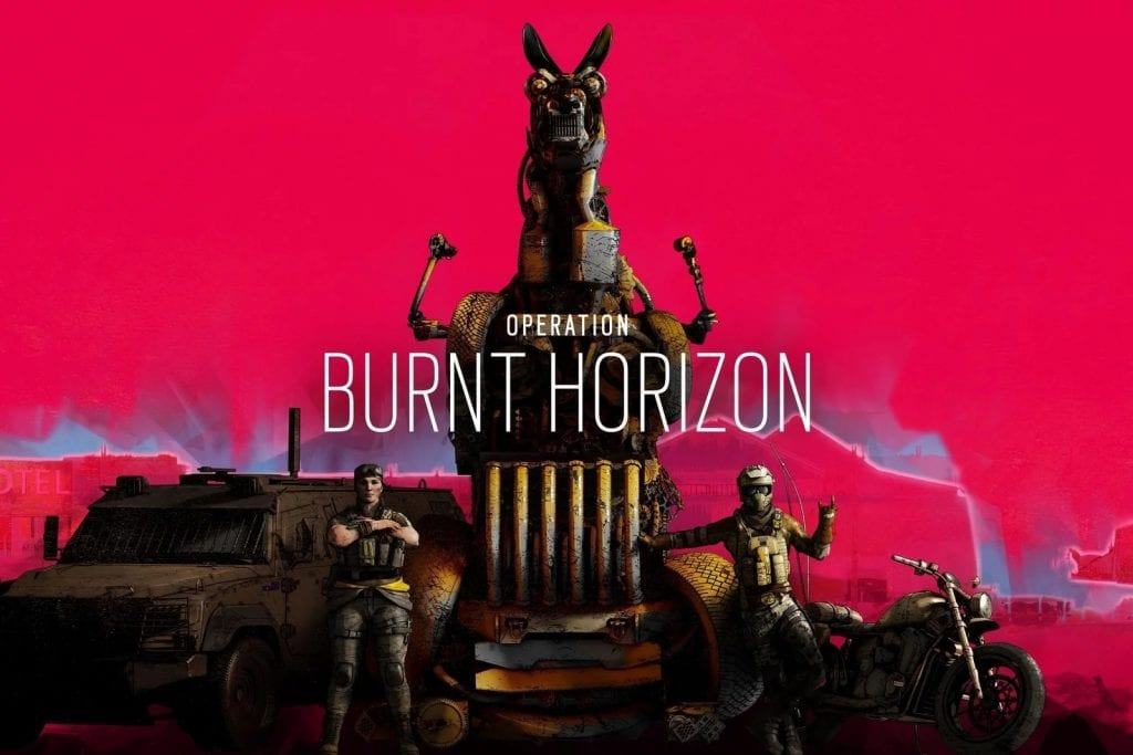 Rainbow Six Siege Burnt Horizon Patch Arriving Tomorrow